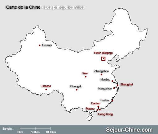 Carte Chine Pekin Shanghai.Carte De La Chine Et Plan De Ville Pekin Shanghai Hong Kong